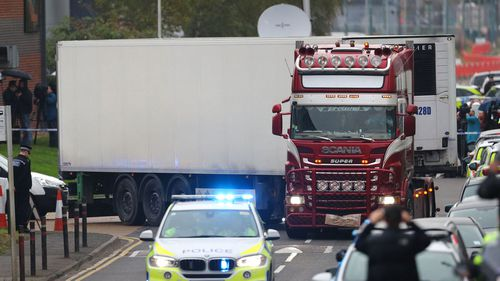 New arrest over UK migrant truck deaths 1