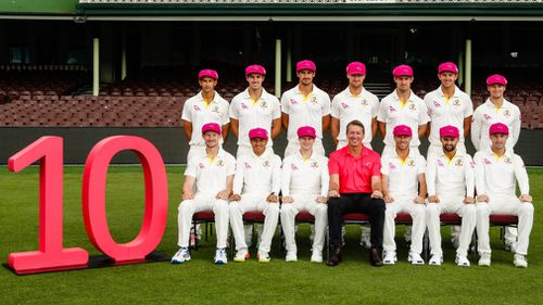 Glenn McGrath and the Australian cricket team are ready for the 10th Pink Test. (AAP)