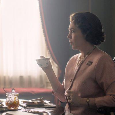 Queen Elizabeth II played by Olivia Colman