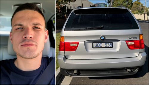 The only place Mr Siavelis drove that day was to and from work in Lower Templestowe. Picture: 9NEWS