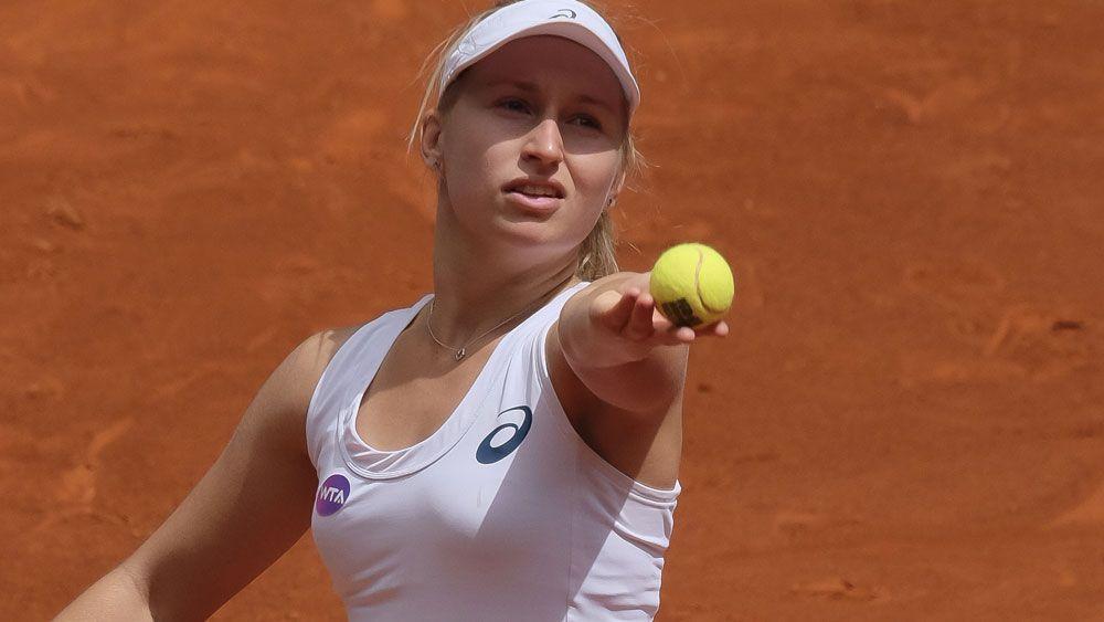 Daria Gavrilova. (AFP)