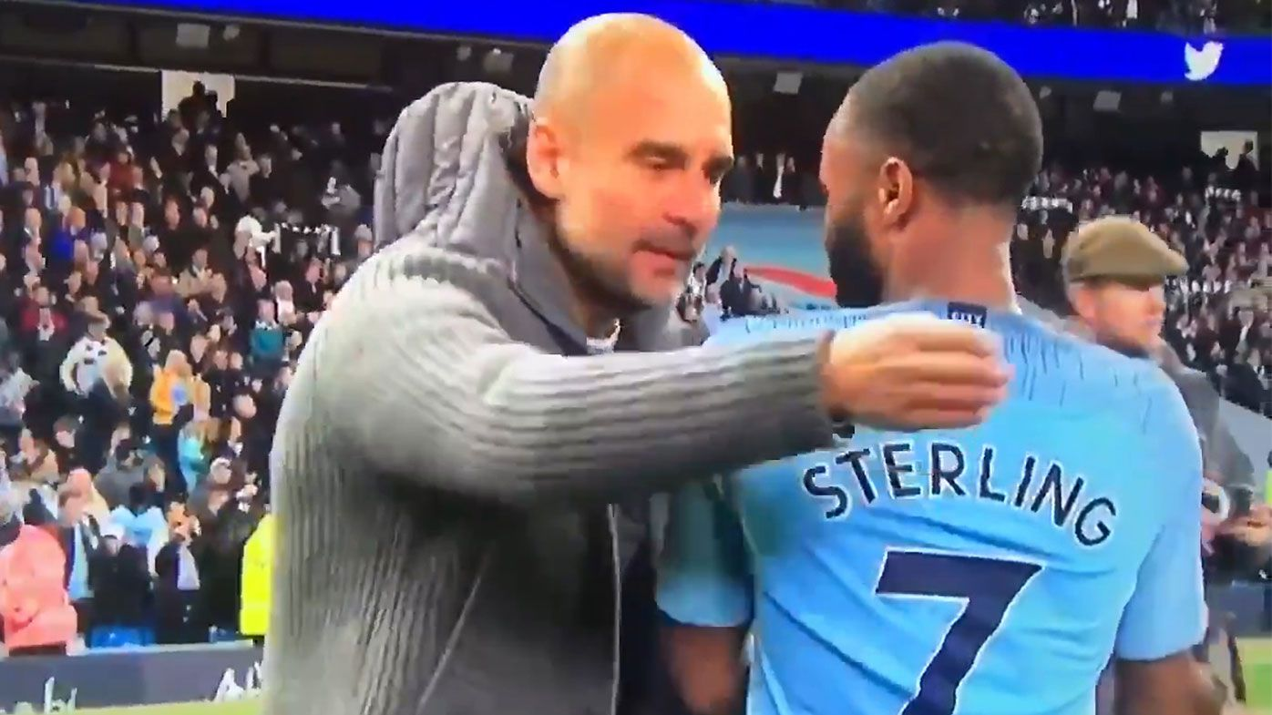 Pep Guardiola blasts Raheem Sterling for showboating after derby win over Manchester United