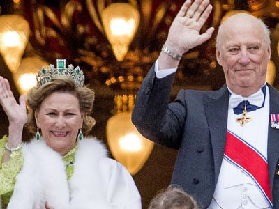 King Harald V and Queen Sonja of Norway, 53 years