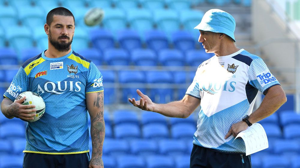 NRL: Gold Coast hooker Nathan Peats launches defence of coach Neil Henry