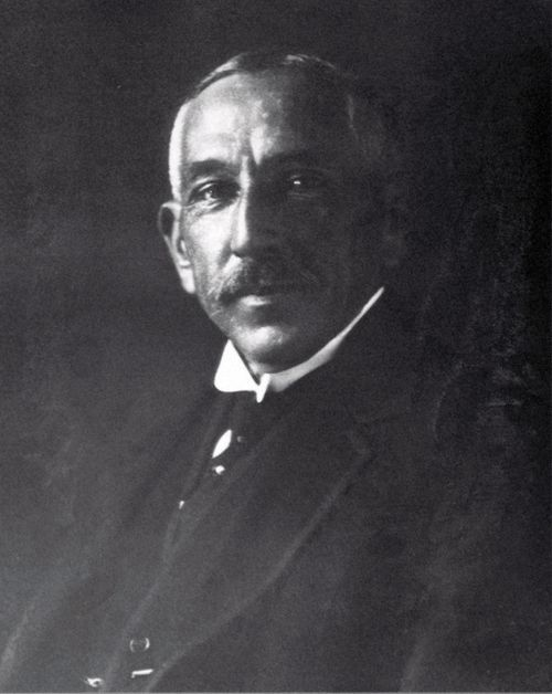 Former Labor prime minister William Hughes, who established the AFP in 1917 (AAP)