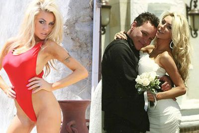 Courtney, Courtney, Courtney. She's the 17-year-old who got married at 16 to 51-year-old actor <b>Doug Hutchison</b>. Yep, gross, but you got to give it to the girl. She's certainly made a name for herself...