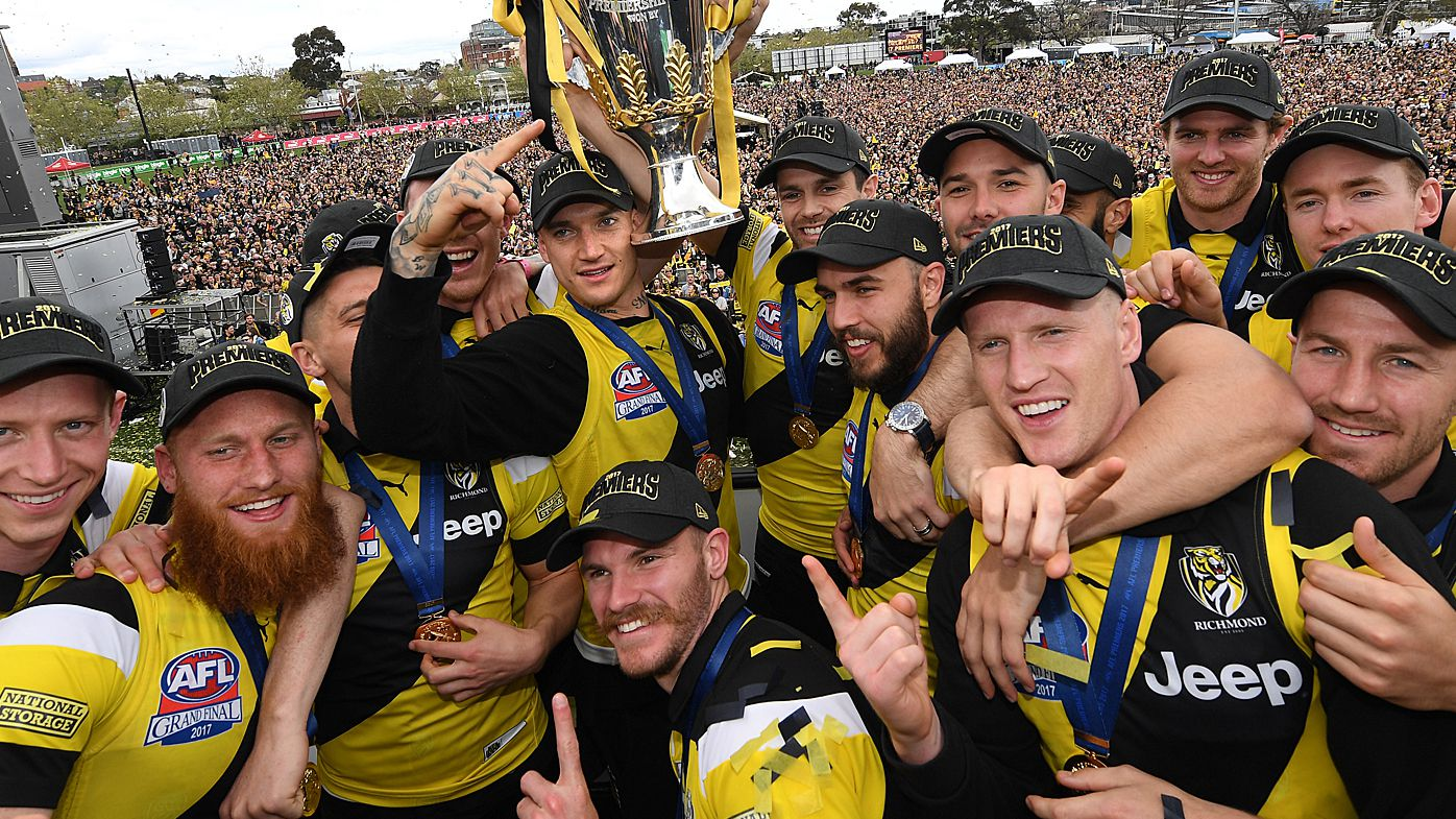 Number of AFL millionaire players rises by one third