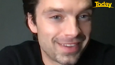 Sebastian Stan said he'd love to visit Australia.