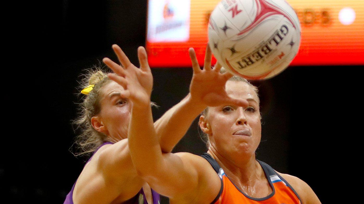 Giants down Queensland Firebirds in Super Netball