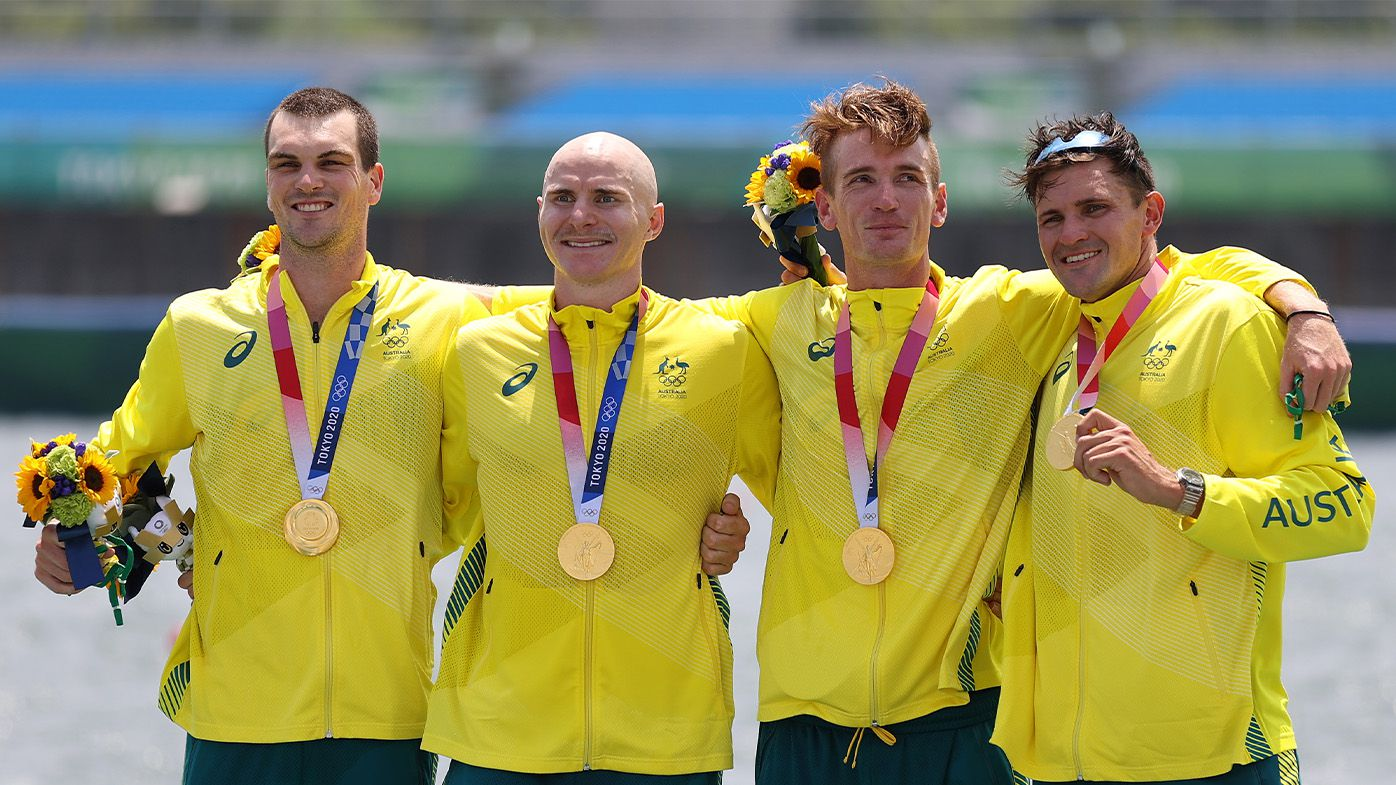 Praise floods in for Australia's 'incredible' rowers following morning of domination in Tokyo