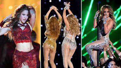 Shakira, Jennifer Lopez, Super Bowl, Halftime Show