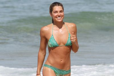 Jessica Hart's younger sister will dance with Julz Tocker.<br/><br/>Image: Splash