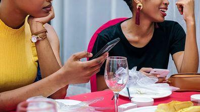Women on date