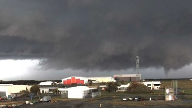 The Bureau of Meteorology (BoM) has confirmed a tornado touched down in Queensland after a severe storm warning was issued for Brisbane this morning