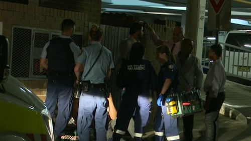 The brawl broke out following a wedding reception in Bankstown. (9NEWS)