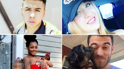 Victims of the shootings in El Paso and Ohio.