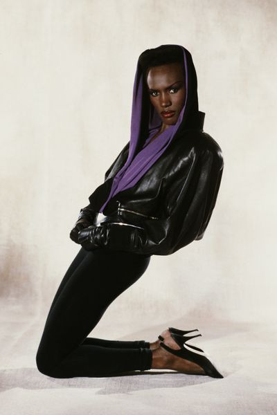 Singer, rebel and all-round legend Grace Jones, 1984.