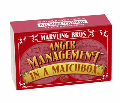 """<a href=""""https://www.hardtofind.com.au/121116_stress-relief-kit-in-a-matchbox"""" target=""""_blank"""" draggable=""""false"""">Marvling Bros Anger Management&nbsp;Kit in a Matchbox, $20, hardtofind.com.au</a>"""