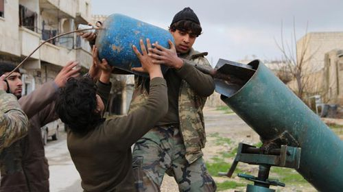 'Hell Cannon' a home-grown horror of Syrian war
