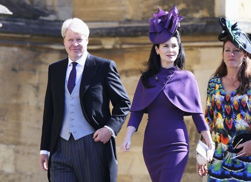Charles Spencer, Earl Spencer and his wife, Countess Spencer. (AAP)