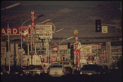 <strong>Las Vegas, Nevada in 1972&nbsp;</strong>
