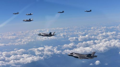 A fleet of F-35 fighter jets could soon be in Japan's ownership.