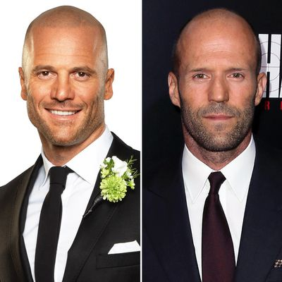 Mike and Jason Statham