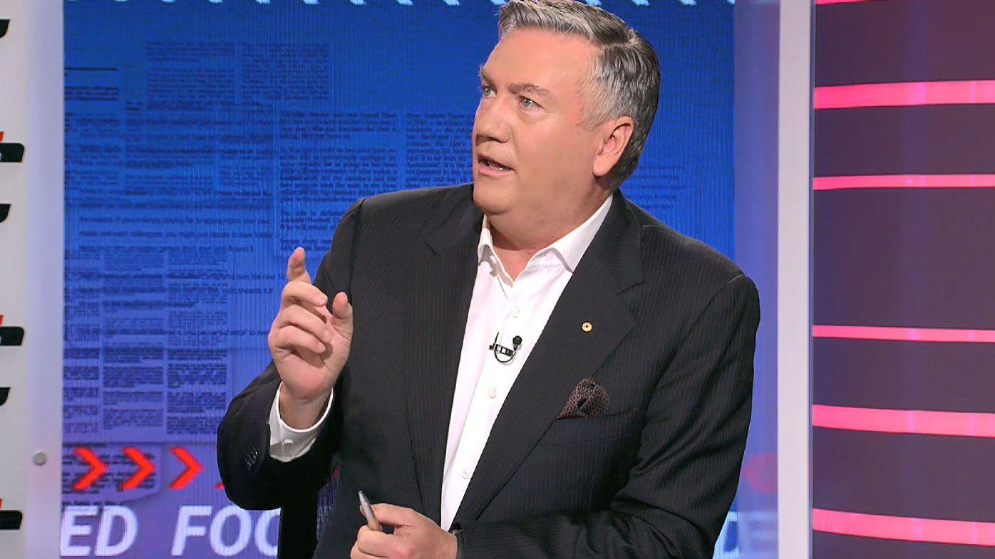 'Back off, no': Eddie McGuire fires up over Port Adelaide's latest 'Prison Bars' jumper request