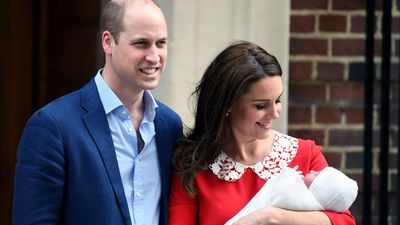 Prince William and Kate Middleton welcome their third child, April 2018