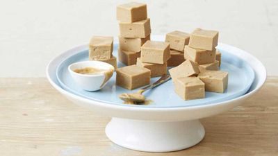 "<a href=""http://kitchen.nine.com.au/2017/02/16/13/45/supercharged-peanut-butter-fudge"" target=""_top"">Supercharged peanut butter fudge</a><br /> <br /> *Contains nuts"