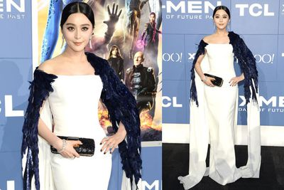 Fan bingbing, who plays Blink in <i>X-Men: Days of Future Past</i>.