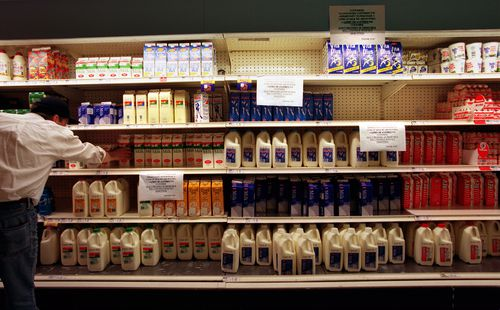 Coles to pay $5m to drought-stricken farmers over 'egregious' milk claims
