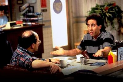 """<B>What's the story?:</B>  In a 1993 episode of the hit sitcom, the two friends are mistaken for closeted gay lovers. Wanting to set the record straight but afraid of seeming homophobic, the pair ends denials of the relationship with """"Not that there's anything wrong with that.""""<br/><br/><B>When to use it:</B> When pointing out the over-sensitivity that political correctness has left us with. Eg: """"Wow, that guy's pretty tall. Not that there's anything wrong with that!""""<br/><br/><B>When not to use it:</B> When there clearly <em>is</em> something wrong with that."""