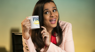 Sarah Cooper serves up the laughs in 'Everything's Fine'.