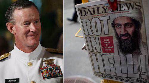 Retired Admiral William McRaven commanded the 2011 raid that killed Osama bin Laden.
