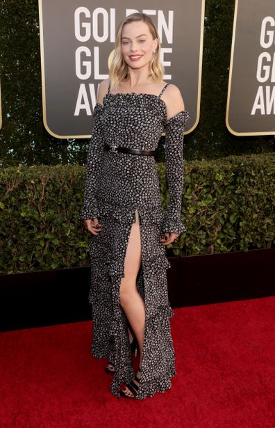 Margot Robbie, 78th Annual Golden Globe Awards, The Beverly Hilton, February 28, 2021 in Beverly Hills, California.