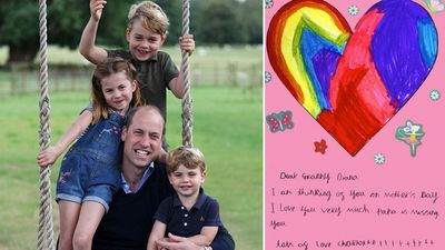 William and Kate's children honour Diana on Mother's Day