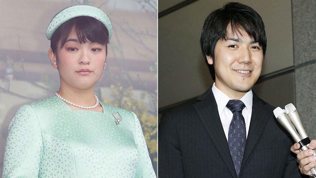 Princess Mako of Akishino and Kei Komuro