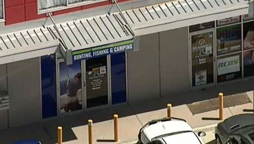 No shots were fired and no-one was injured in the robbery, police said. (9NEWS)
