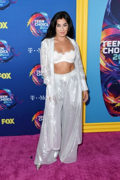 Singer Lauren Jauregui at FOX's Teen Choice Awards in California, August, 2018