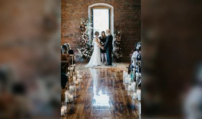 On April 26, Peter and Lisa Marshall found themselves back at the altar.