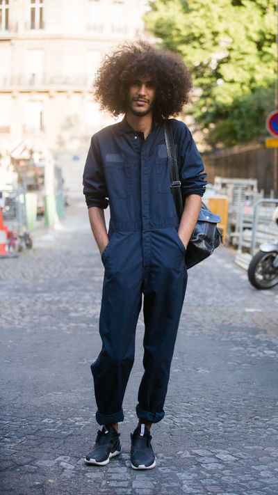 <p>We want to get in this guy's jumpsuit in more ways than one.</p>