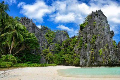 3. Hidden Beach in El Nido, Philippines