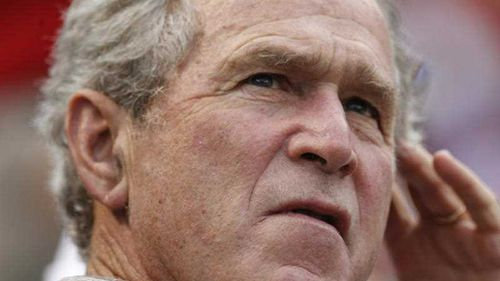 Former President George W. Bush pictured at a baseball game in Texas in 2012. (AP)