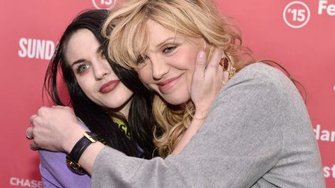 Courtney Love reunites with Frances Bean Cobain after five years