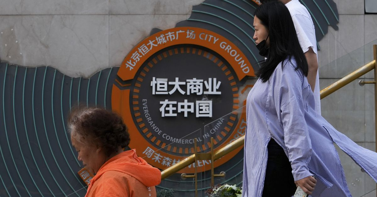 Chinese property giant Evergrande reaches agreement to delay default - 9News
