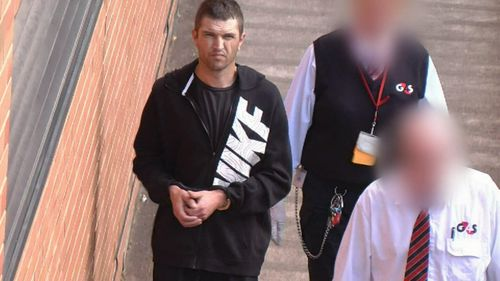 Aaron Carver's DNA was allegedly found on a cigarette butt near the murder scene.