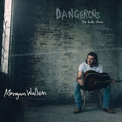 """This cover image released by Big Loud Records and Republic Records shows""""Dangerous: The Double Album,"""" by Morgan Wallen"""