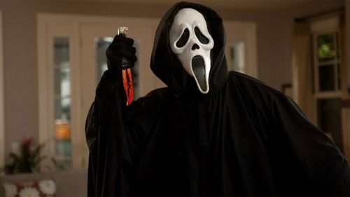 Police who shot dead a man regularly dressed up as a character from the movie Scream. (Picture: Supplied)
