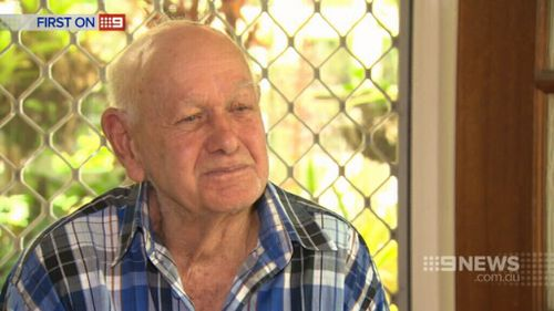 Hugh Gibson says he's horrified at the theft. (9NEWS)